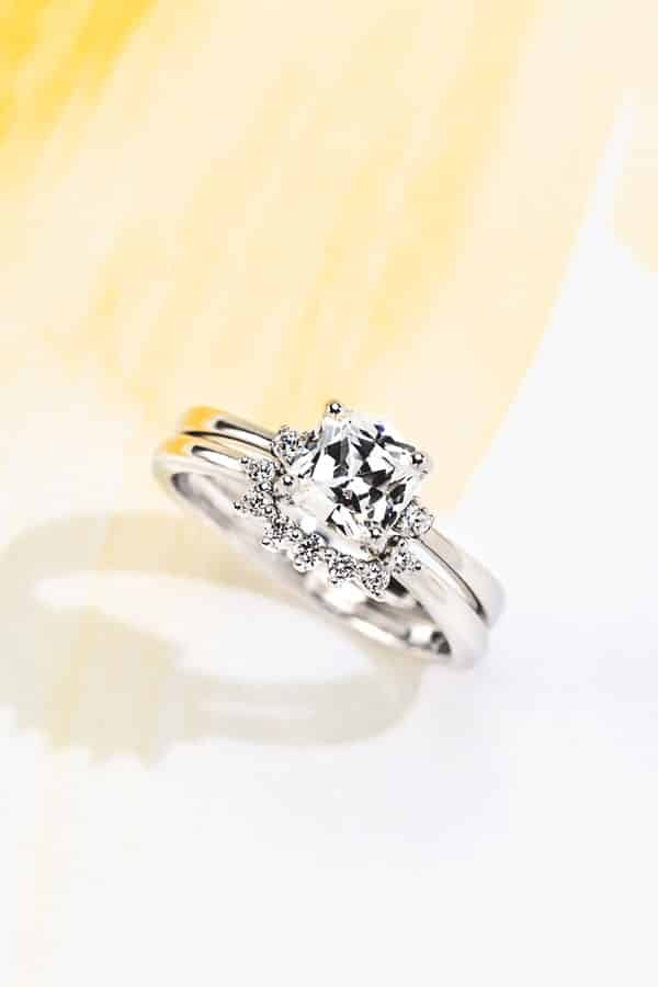 Elodie Engagement Ring - Lab Grown Diamond Engagement Rings - MiaDonna