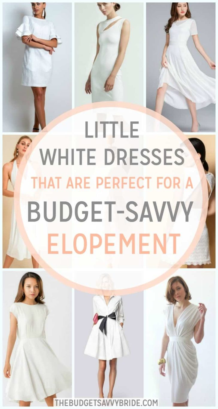 Little White Dresses - Perfect Elopement Dresses from Etsy