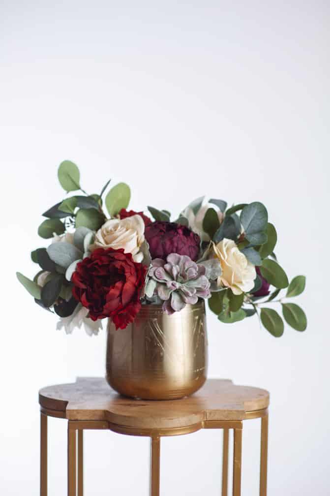 Stella - Wedding Centerpiece - Silk Flowers - Something Borrowed Blooms