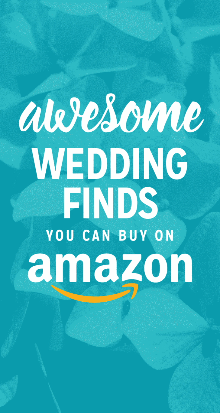 awesome wedding finds you can buy on amazon
