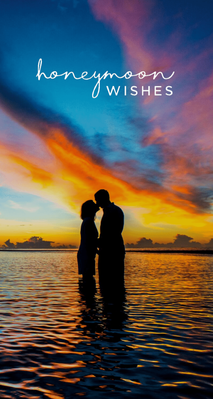 choosing a honeymoon registry - honeymoon wishes