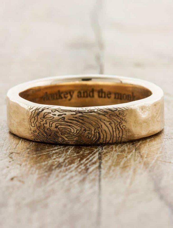 unique ways to customize a wedding ring - ken & dana design