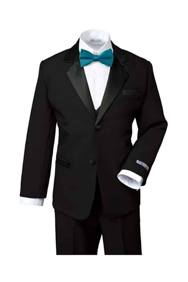 Boys Classic Fit Tuxedo Set By Spring Notion