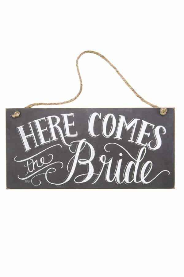 Here Comes The Bride Sign By Primitives By Kathy