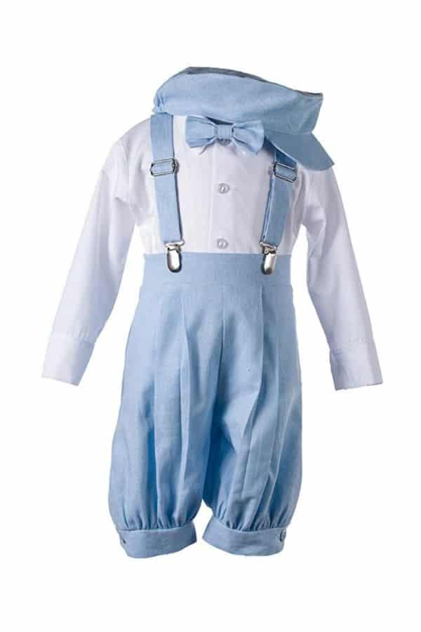 Linen Knickerbocker Outfit By Tuxgear