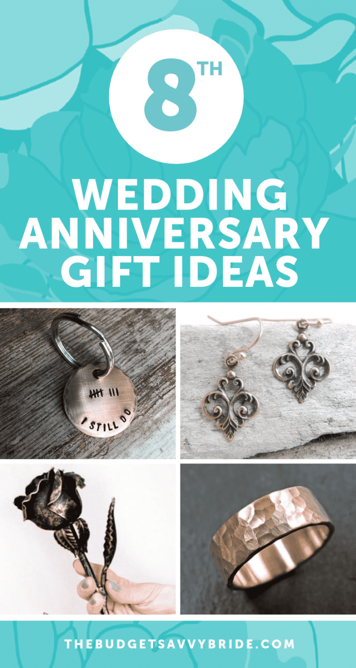 8th Wedding Anniversary Gift Ideas | Gifts for 8th Anniversary