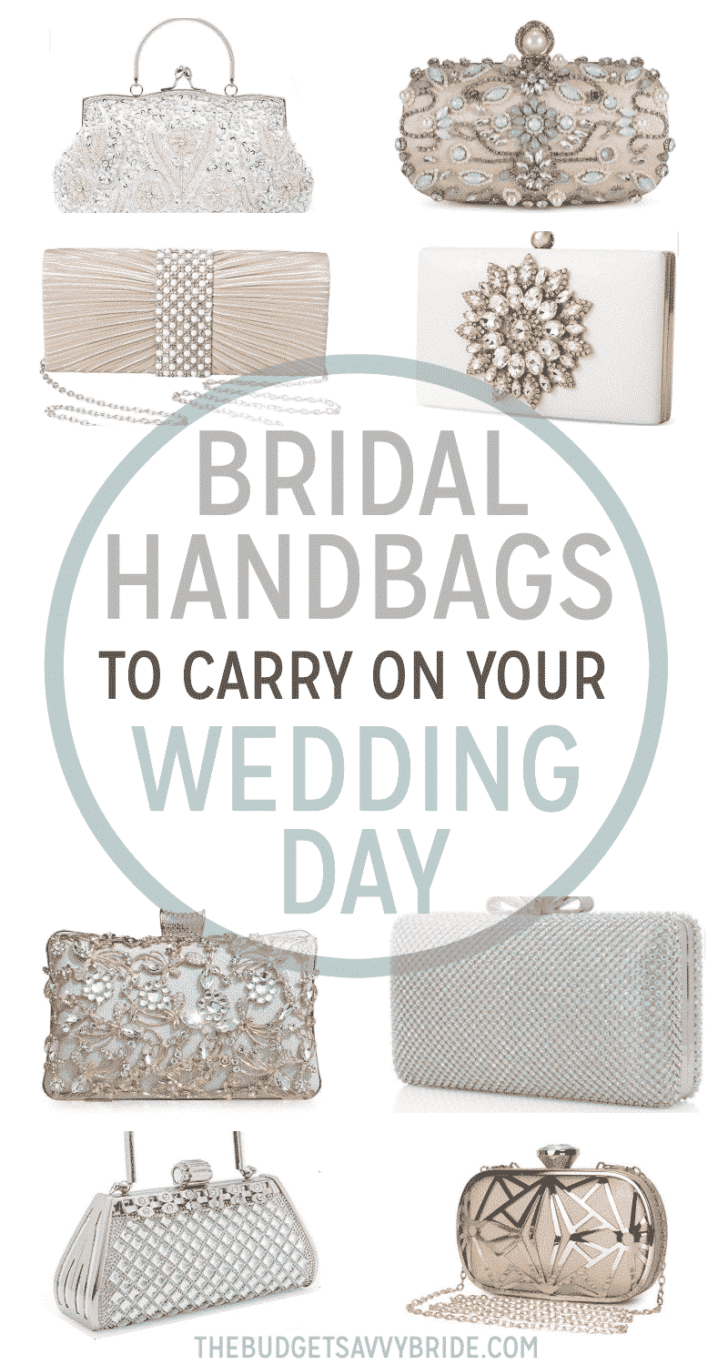 Bridal handbags for your wedding day