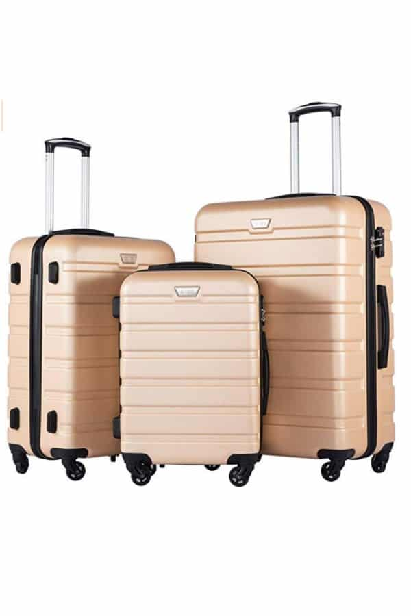 Hardshell Luggage 3-Piece Set | affordable luggage and travel finds for your honeymoon