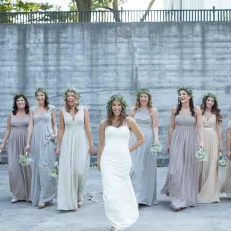 azazie white bridesmaid wedding dress