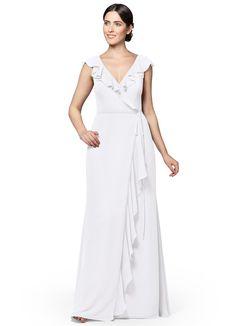 azazie white bridesmaids dresses emeraude