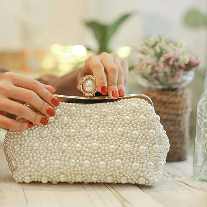 Affordable Bridal Handbags to Carry on Your Wedding Day
