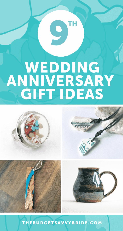 9 Wedding Anniversary Gift Ideas