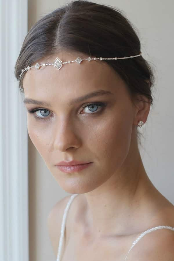 Unique Bridal Headpieces from Etsy | Boho Bridal Headband by Ayajewellery