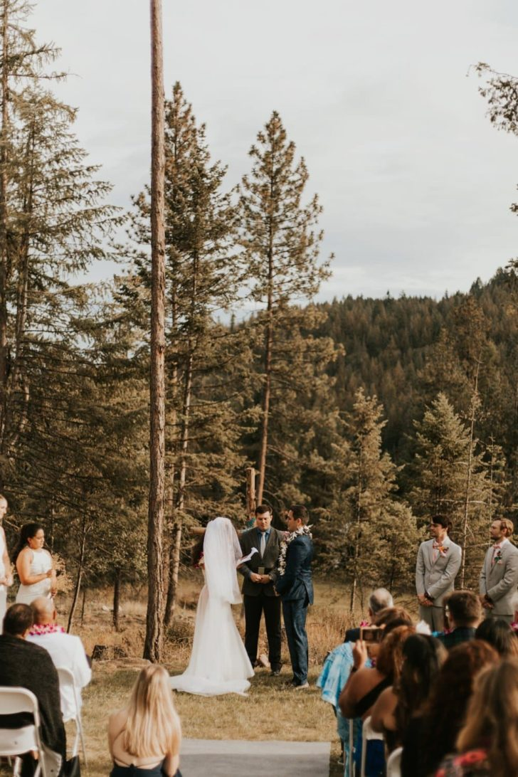 Fair Trade Backyard Wedding in Idaho