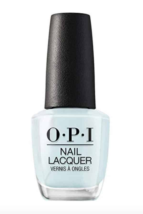 Affordable Ideas for Your Something Blue | OPI Nail Lacquer by OPI