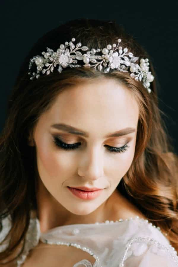 Unique Bridal Headpieces from Etsy | Pearl Bridal Tiara by AnnaHandwelleryAccs