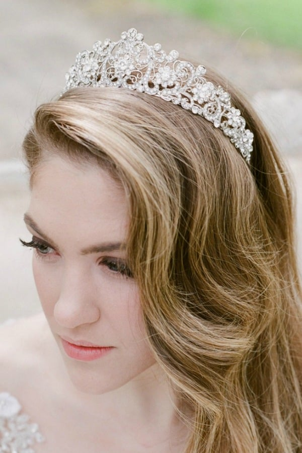 Unique Bridal Headpieces from Etsy - The ELLA Tiara