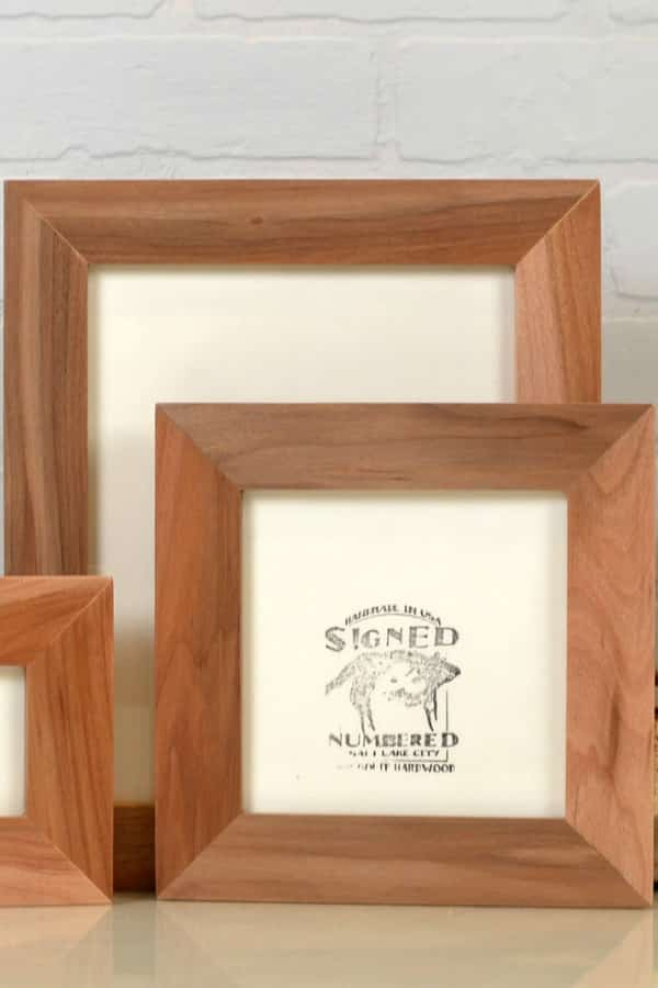 9th Wedding Anniversary Gift Ideas Willow Wood Picture Frame By signedandnumbered
