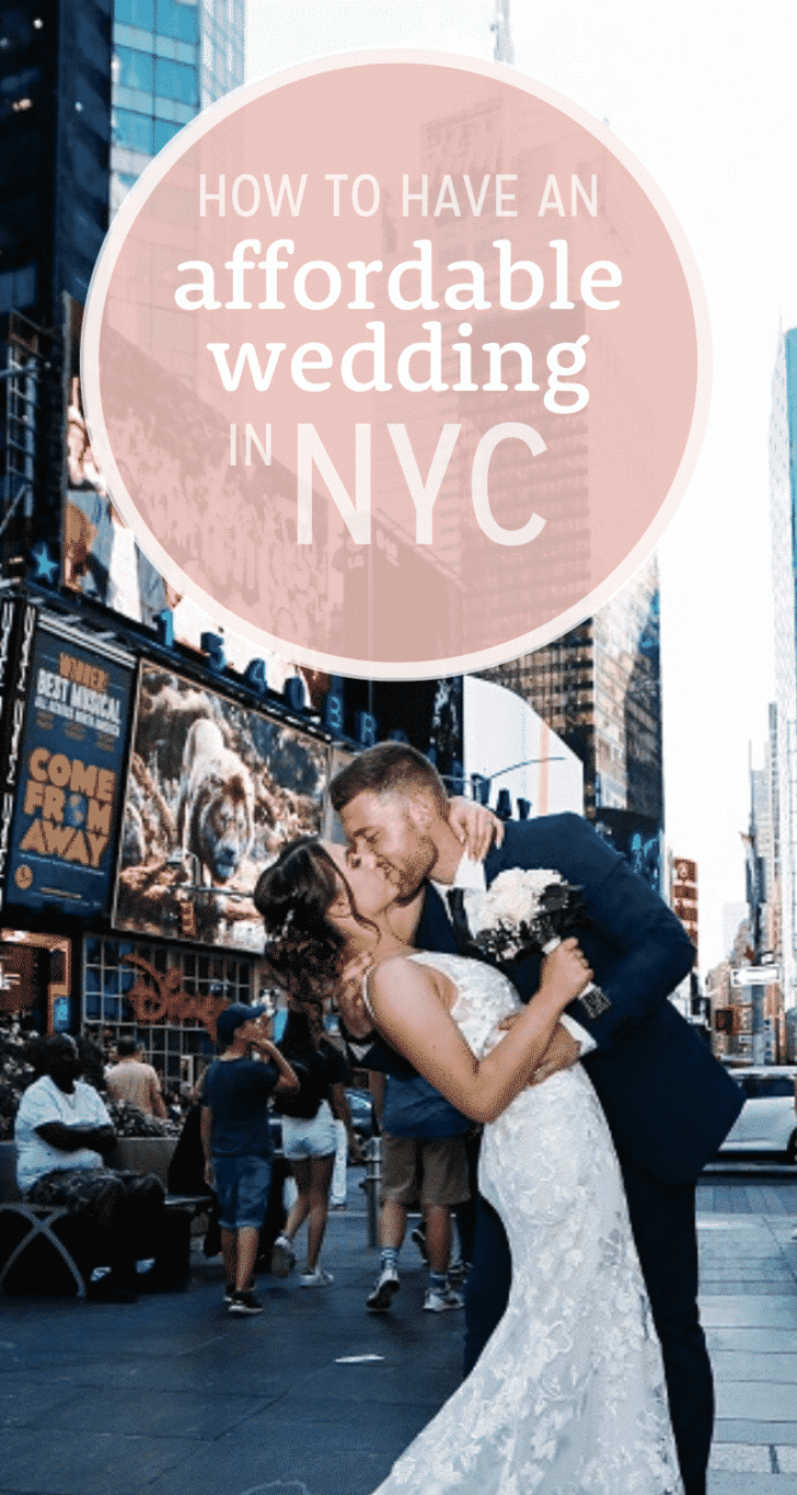 affordable nyc wedding : get married in central park