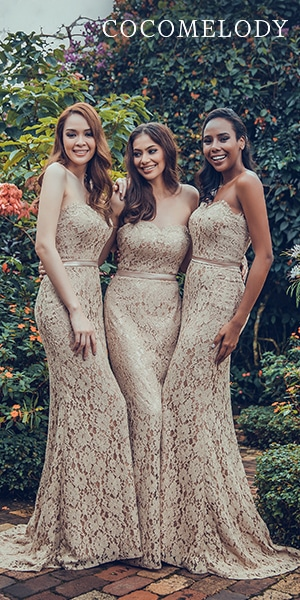 cocomelody bridesmaids dresses