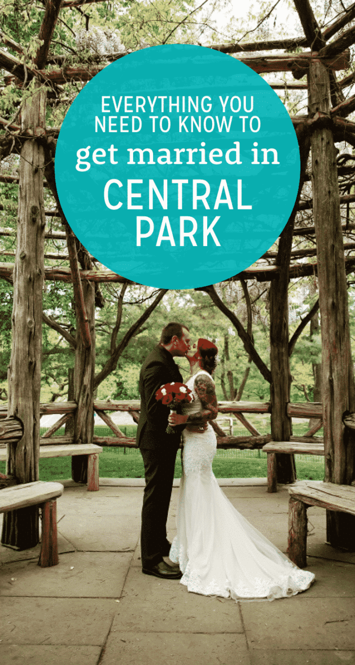 get married in central park