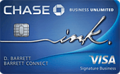 Chase Ink Business Unlimited Credit Card