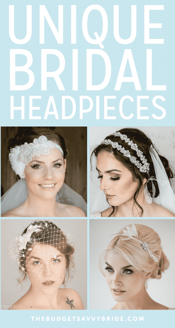 Unique Bridal Headpieces from Etsy