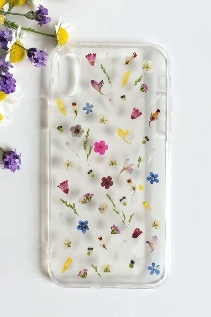 FernandFelt on Etsy - Pressed Flower iPhone Case