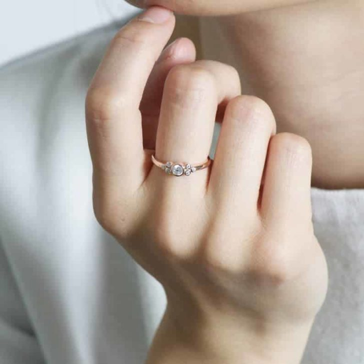 roseandchoc cluster ring
