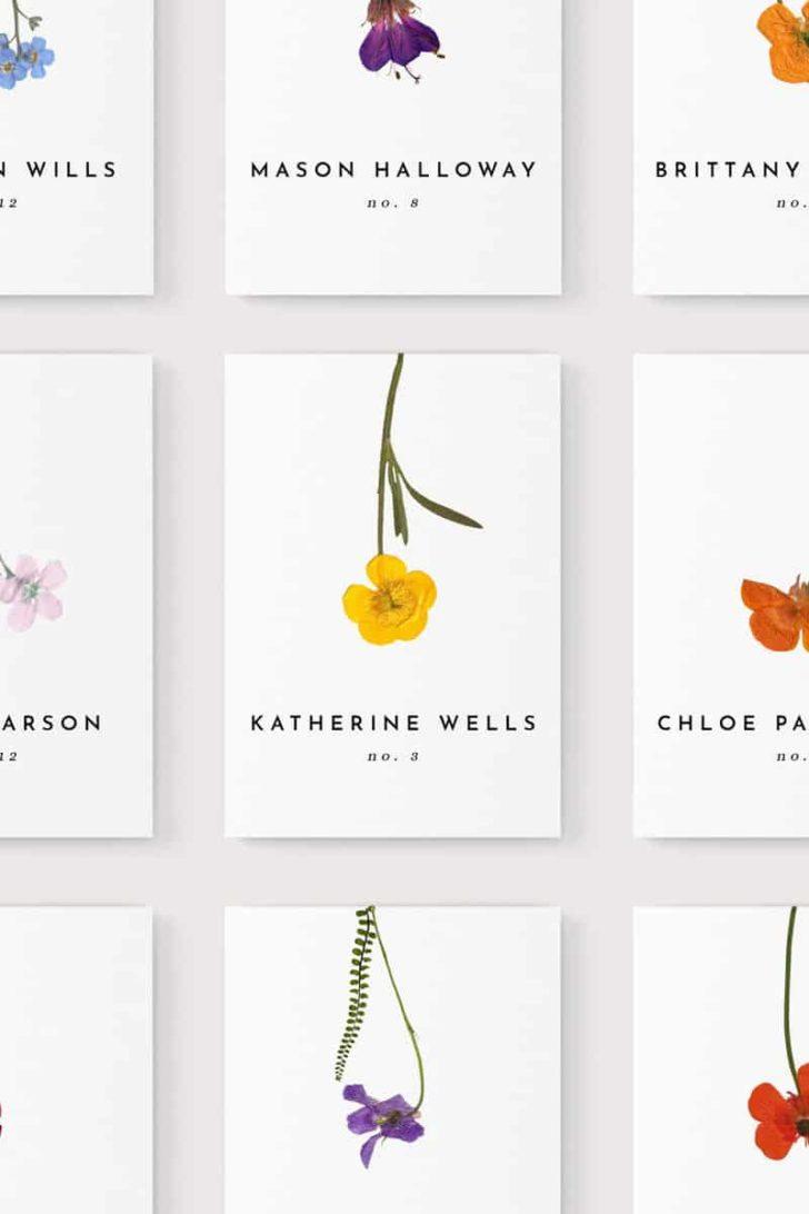 SheffieldHousebyJGV on Etsy - Pressed Flower Illustrated Wedding Invitations
