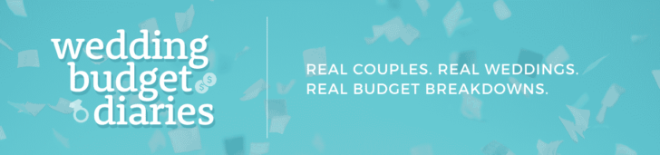 wedding budget diaries