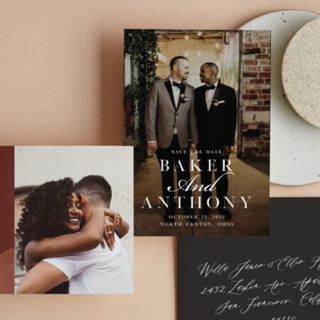 Minted Save the Dates