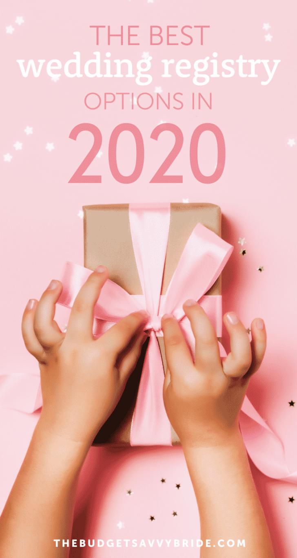 best wedding registries 2020