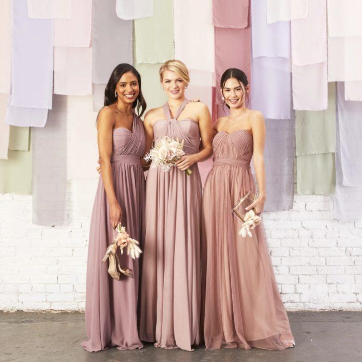 birdy grey bridesmaids dresses under $100