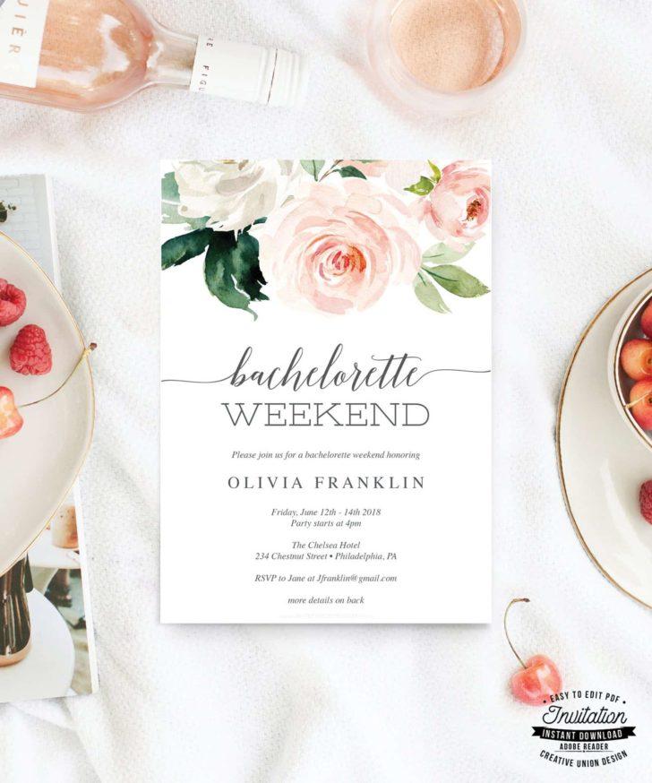 Bachelorette Weekend Invitation - Creative Union Design