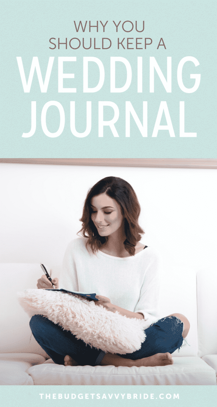 The Trick to remembering everything about your wedding day: keep a wedding journal!