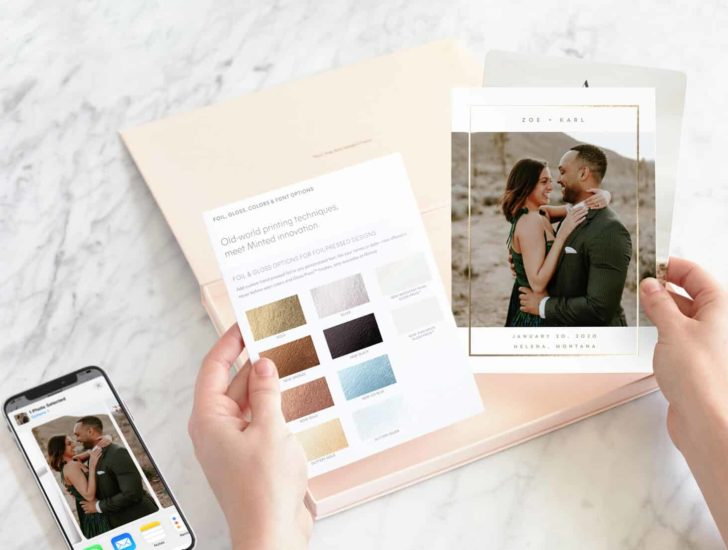 personalized samples from minted