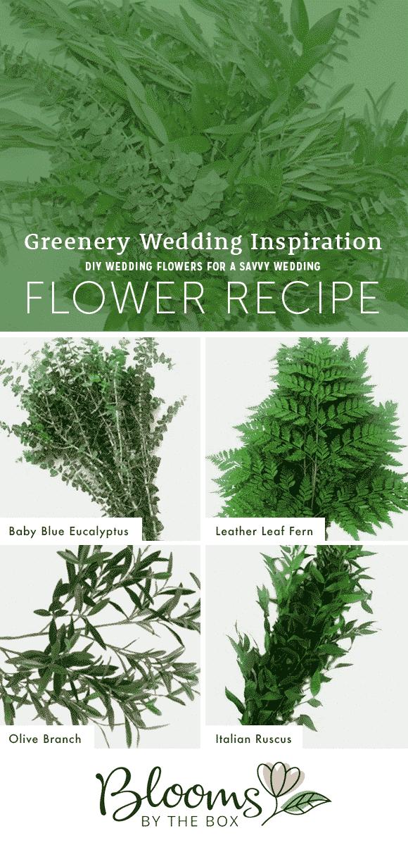 greenery flower recipe