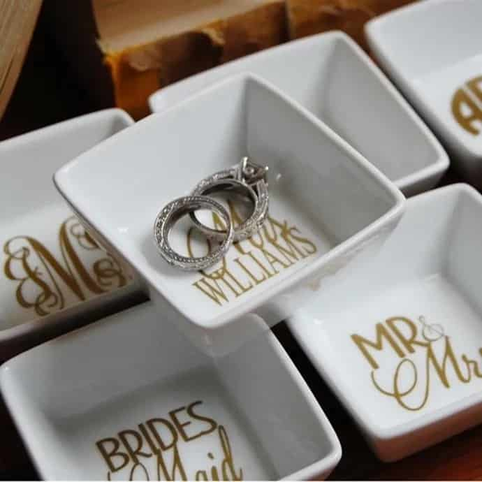 personalized ring dish from jane