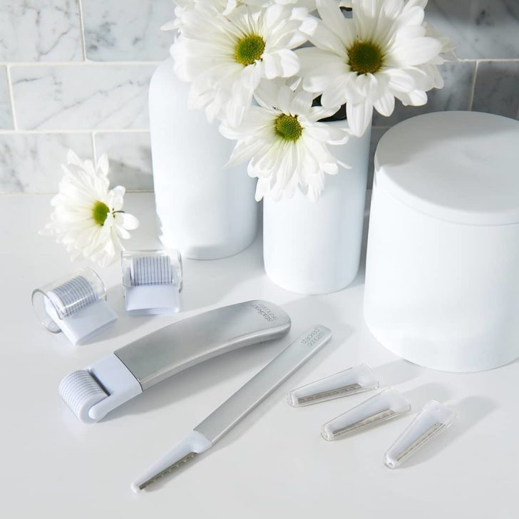 stacked skincare bridal skincare tools and tips