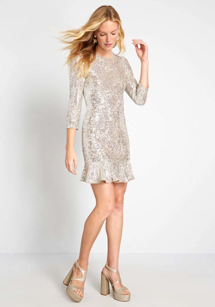 Taken Quite a Shine Mini Dress by ModCloth