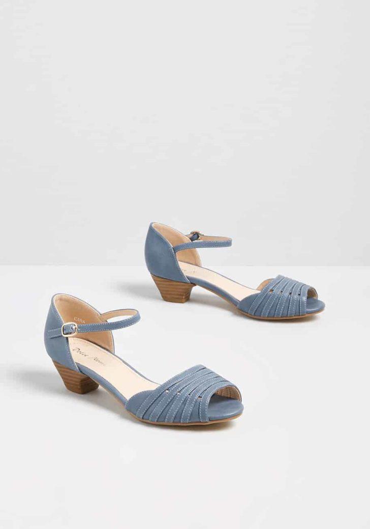 Mid-Height Delights Peep Toe Heel by ModCloth