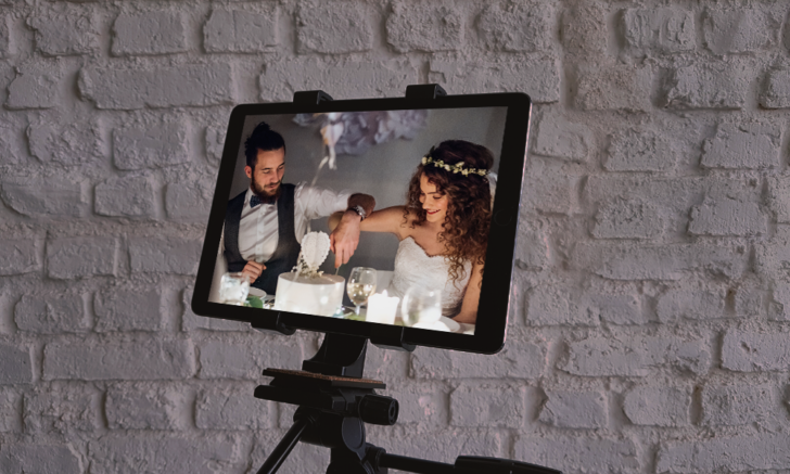 Learn tips on planning a virtual wedding or livestreaming your wedding to your guests!