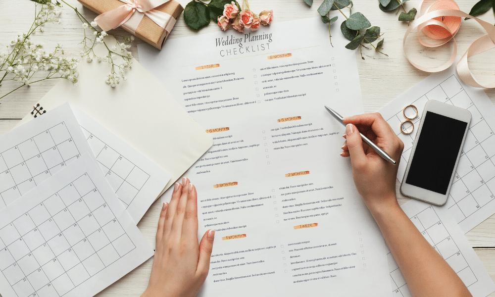 wedding planning and logistics