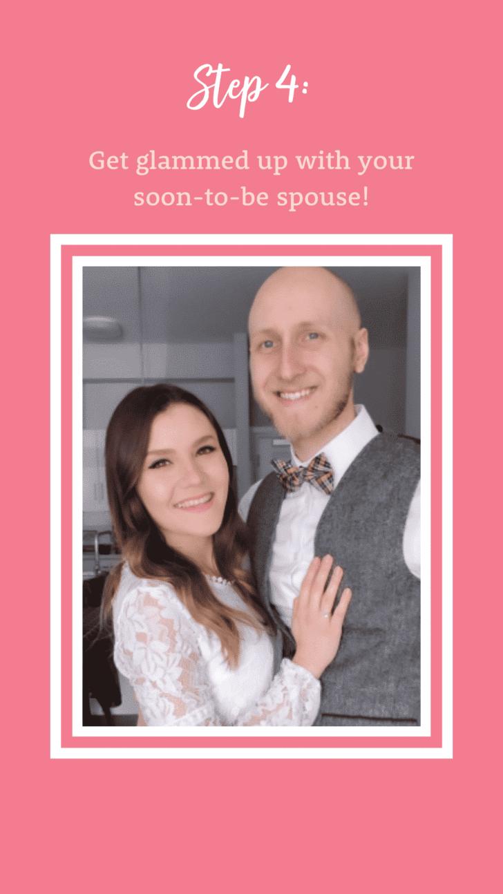 Celebrating a postponed wedding