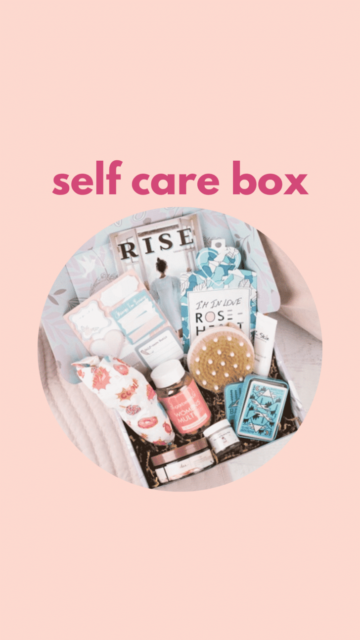 support your friend with a self care box