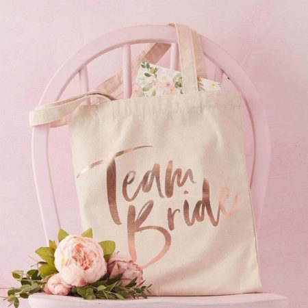 Ginger Ray Team Bride Tote Bag