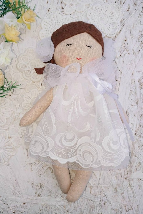 Flower Girl Doll Gift