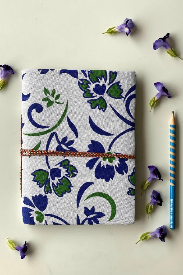 Handmade Art Journal - eco-friendly bridesmaids gift ideas