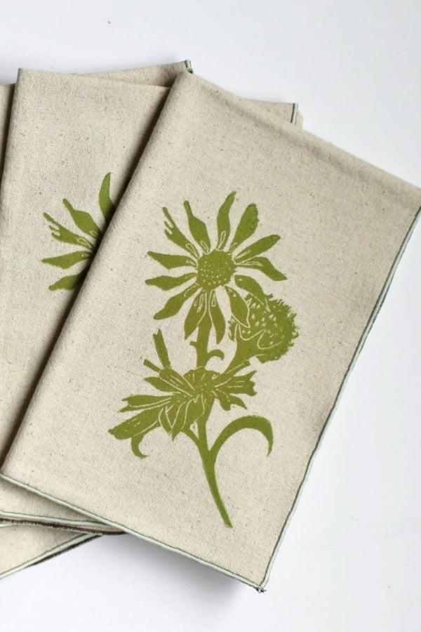 Handmade Block Printed Napkins